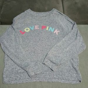 New Pink Victoria Secret Long Sleeve Sweater